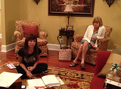 North Myrtle Beach Woman's Club committee meeting.