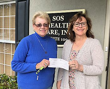 SOS Healthcare Donation