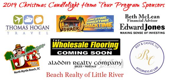 Christmas Tour Program Sponsors