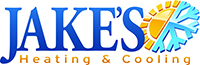 Jake's Heating and Cooling Logo